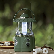 led lantern with flashlight and radio