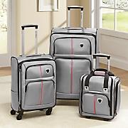 3 pc  luggage set by steve harvey