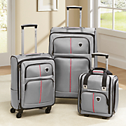3 pc  luggage set by steve harvey