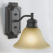 bristol 1 light wall mount fixture by design house