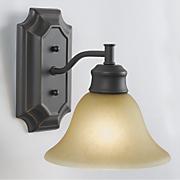 bristol 1 light wall mount fixture by design house