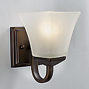 torino 1 light wall mount fixture by design house