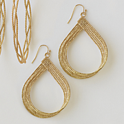 teardrop wire earrings 51