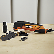 8 pc  oscillating tool set by worx