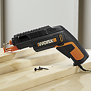 screwdriver with screwholder attachment by worx