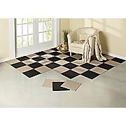 12  x 12  self stick carpet tiles