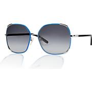 women s oversized wire rim sunglasses by chloe