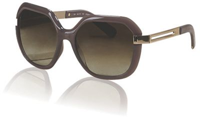 Oversized Rounded-Edge Frame Sunglasses by Chloe