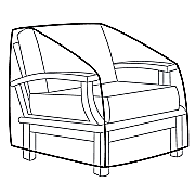heavy duty chair cover