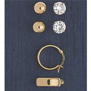 3 pair earring set