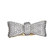 diamond bow ring 33