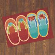 flip flop ombre mat   1  8  x 2  5 1 2