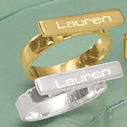 name id bar ring