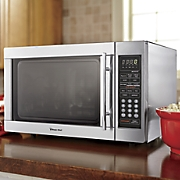 1 3 cu  ft  stainless steel microwave by magic chef