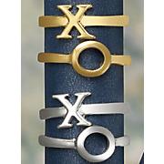 2 pc  xo stack ring set