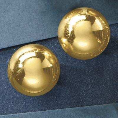 Hemi-Sphere Post Earrings