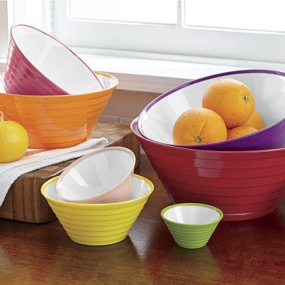 7-Piece Melamine Bowl Set