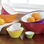 7 pc  melamine bowl set