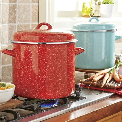 12-Qt. Speckle Stockpot by The Pioneer Woman