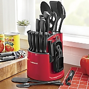 30 pc  spin and store cutlery set by farberware