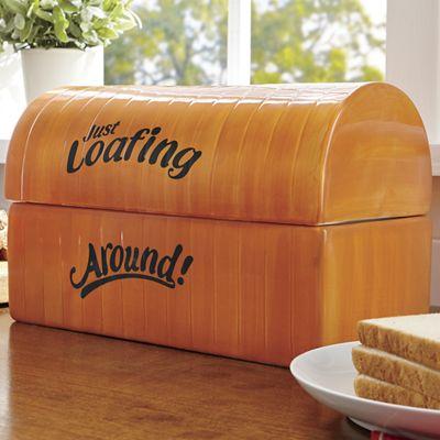 """""""Just Loafing Around"""" Breadbox"""
