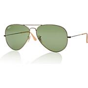 unisex aviator sunglasses by ray ban