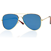 men s flat glass aviator sunglasses by mad style