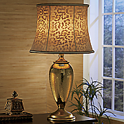 cheetah shade lamp