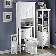 modern white bath furniture