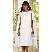 marielle cape dress 12