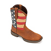 flag boot by durango