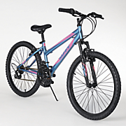 24  gloss princess blue mountain bike by huffy
