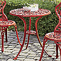 Colorful Aluminum Bistro Table