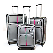 3 piece luggage set by steve harvey