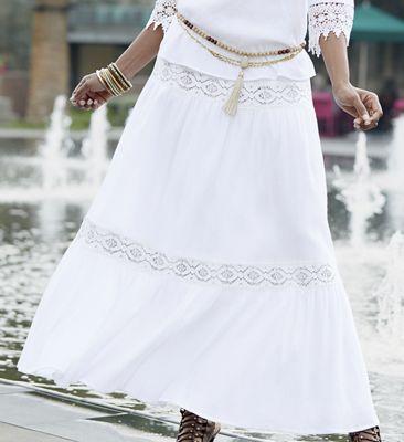 Paulina Maxi Skirt