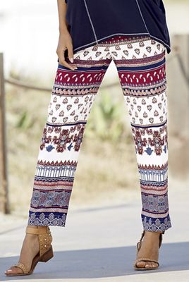 All-Important Print Pant