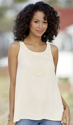 Innocence of Crochet Top