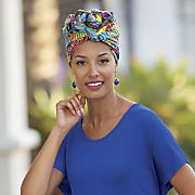 caribbean head wrap