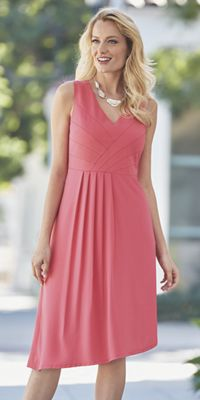 Nellie Pleat Skirt Dress