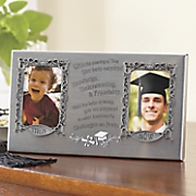 then   now graduation frame