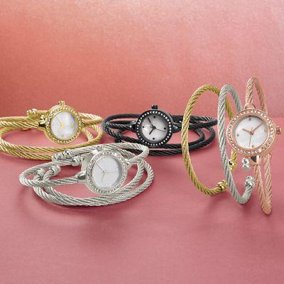 3-Piece Watch/Bracelets Set