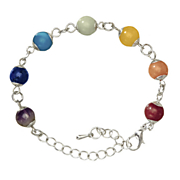 color me happy chakra gemstone bracelet