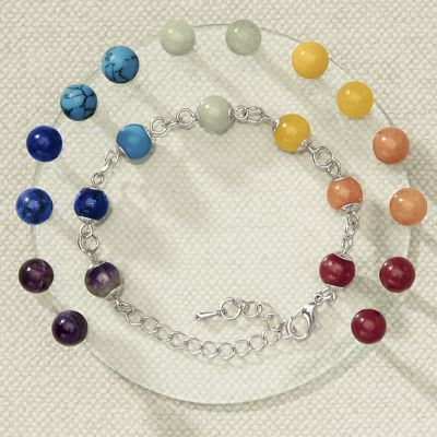7-Pair Color Me Happy Chakra Earring Set