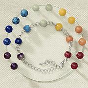7 pair color me happy chakra earring set