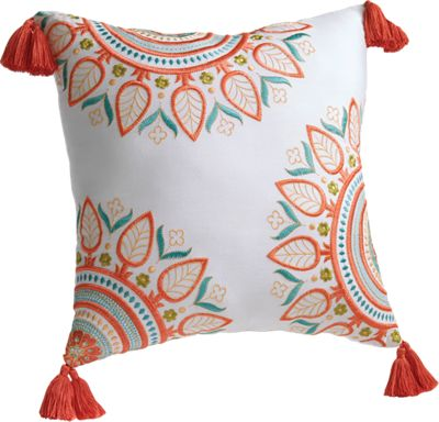 Sabine Square Decorative Pillow by Jessica Simpson<sup class='mark'>&reg;</sup>