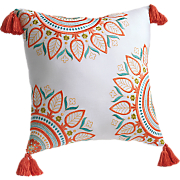 sabine square decorative pillow by jessica simpson