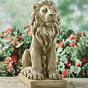 lion statue 7