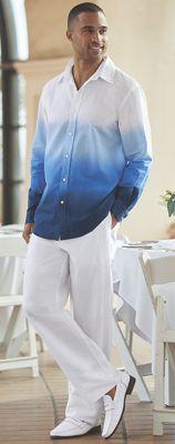 Men's Dip Dye Pant Set
