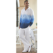 men s dip dye pant set