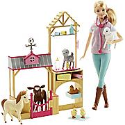 Barbie Farm Vet Play Set by Mattel